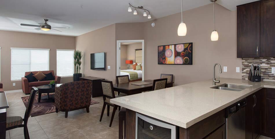 Picture of the Donato kitchen room and dining room luxury condo in Scottsdale