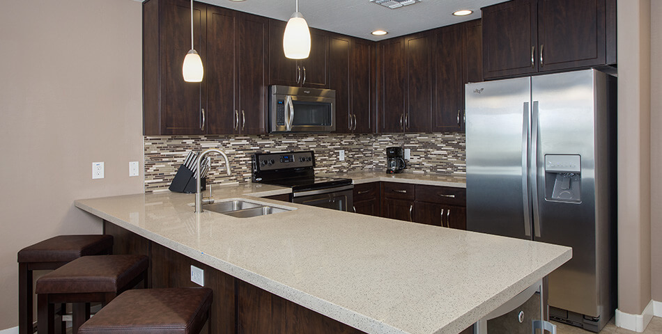 picture of a condo in scottsdale kitchen at the Toscana of Desert Ridge