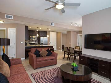 Condos for sale in Scottsdale - picture of a condo living room at Toscana of Desert Ridge