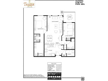 Venitia B Floor Plan