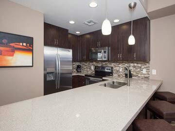 Scottsdale condos for sale - picture of a luxury condo kitchen at Toscana of Desert Ridge