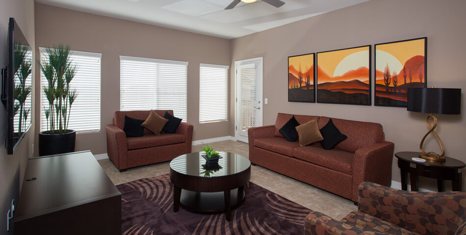 Preview picture of a two bedroom luxury condo in Phoenix AZ at the Toscana of Desert Ridge